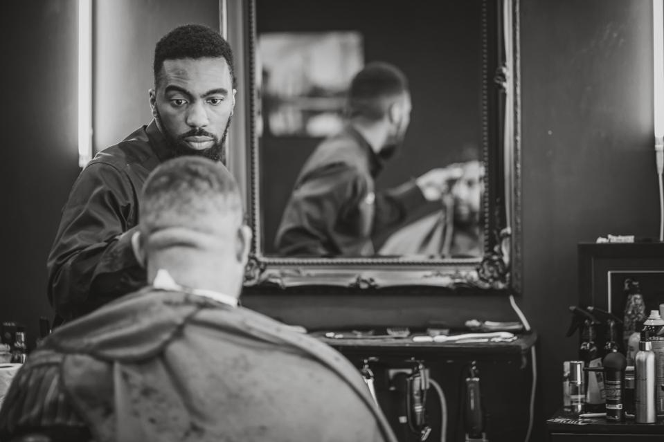 Aaron Wallace, barbershop, black barber