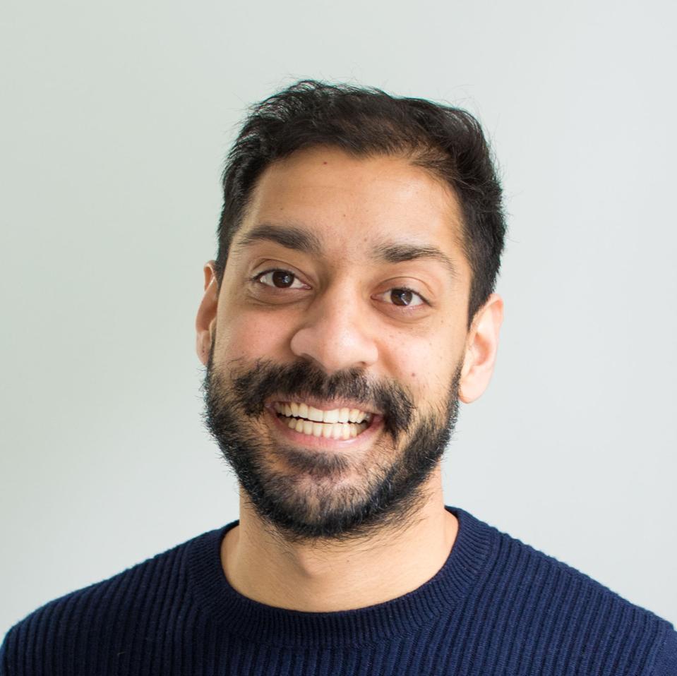 Headshot of author Karam Singh Sethi