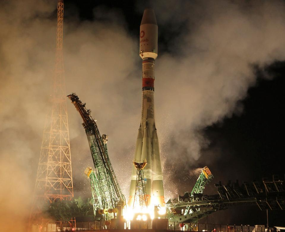OneWeb recently launched 34 satellites on a Russian Soyuz rocket.