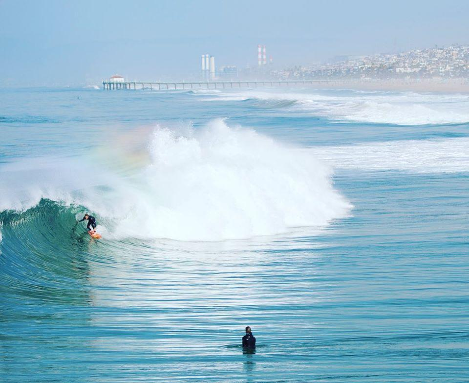 Hermosa Beach, Calif., is a surfing mecca.