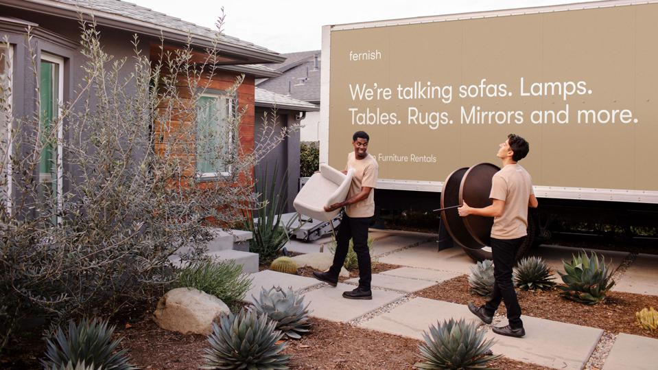 Home Delivery Of Your Home Office Pandemic Boosts Demand At Furniture As A Service Startup