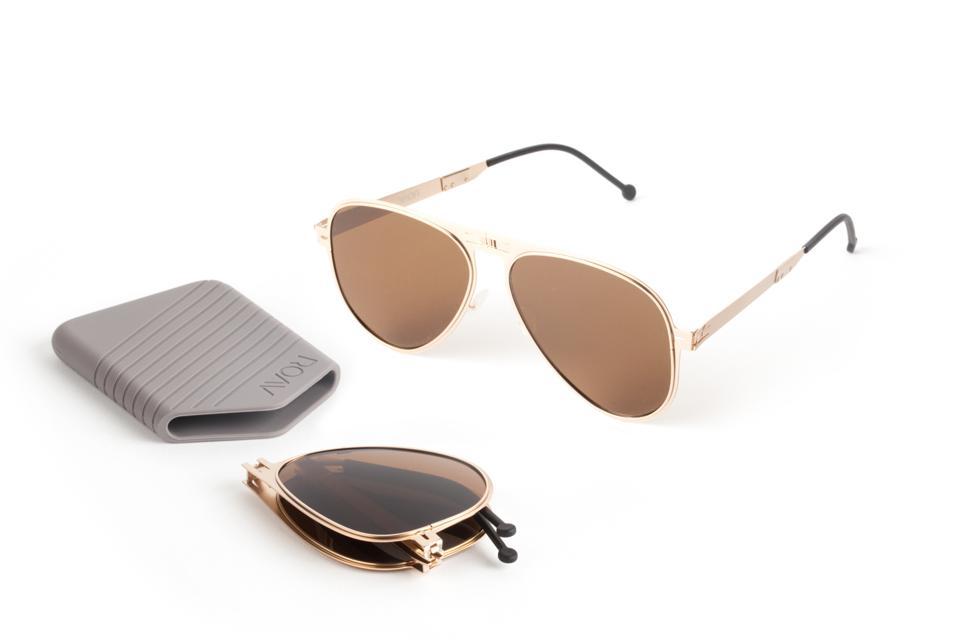 The Atlas ROAV ultra-lightweight sunglasses.