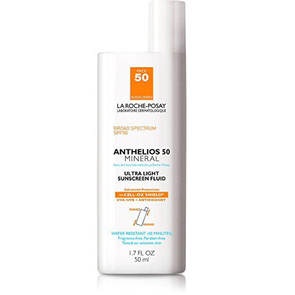 La Roche-Posay Anthelios Mineral Oil-Free SPF 50 Face Sunscreen