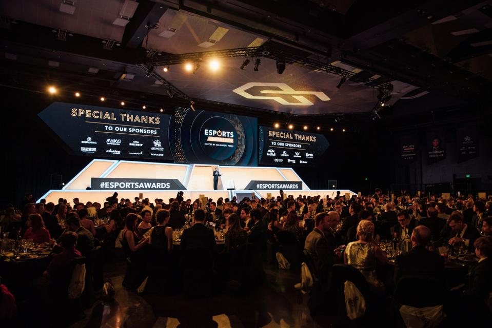 A picture of the Esports Awards 2019.