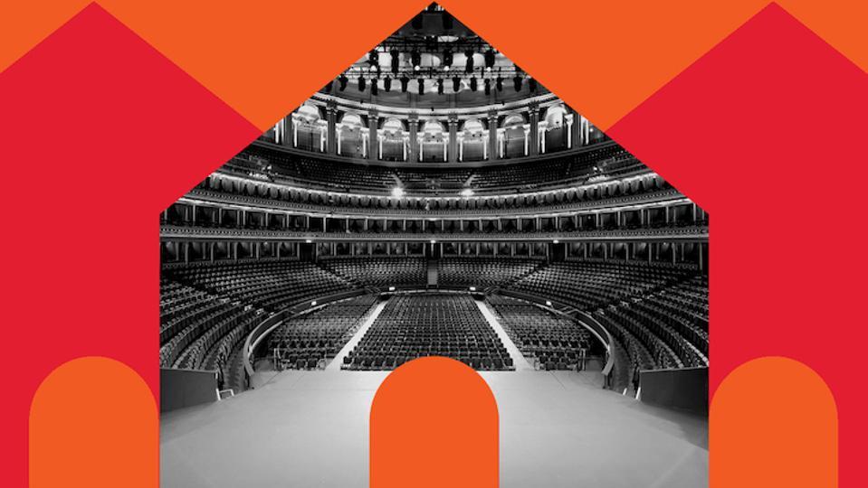Royal Albert Hall at home