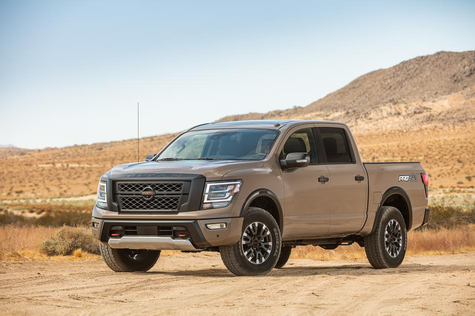 2020 Nissan Titan Pro 4x Test Drive And Review A Truck With Merit