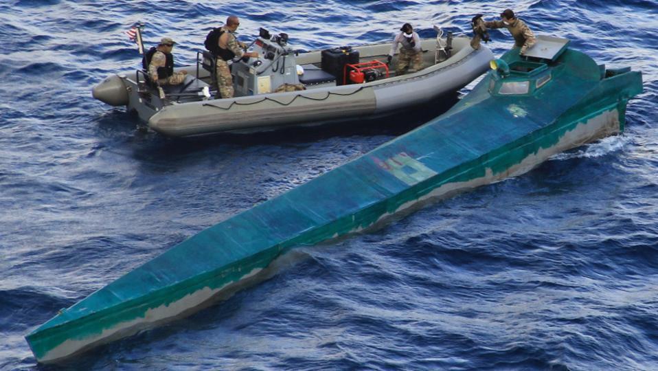 Narco-submarine US Navy USS Pinckney
