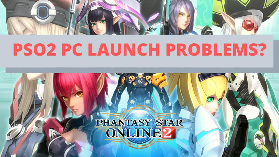 Yet Another Windows Store Failure Disrupts Sega's PSO2 PC Launch