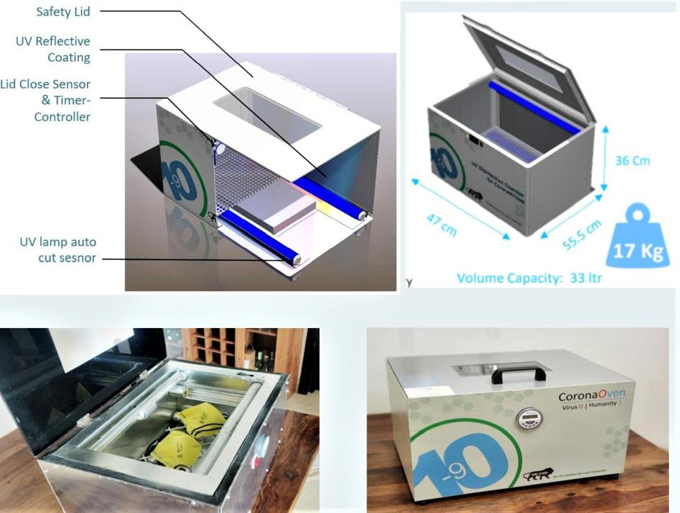 Corona Ovens by Log 9 Materials.
