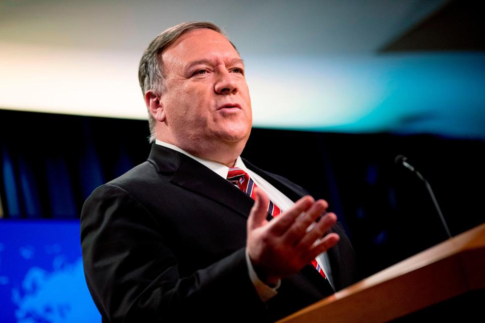 Mike Pompeo Has No Place In Ayn Rand's Hong Kong