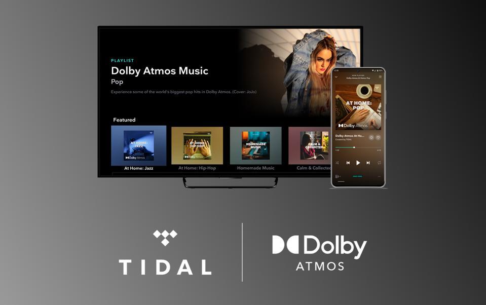 Dolby Atmos Music via Tidal