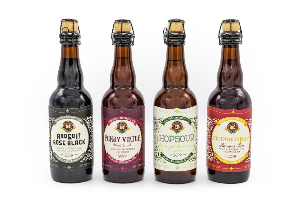 Bozeman Brewing Company Craft Beer Montana Tavour Breweries Bottles Gose Hopsour