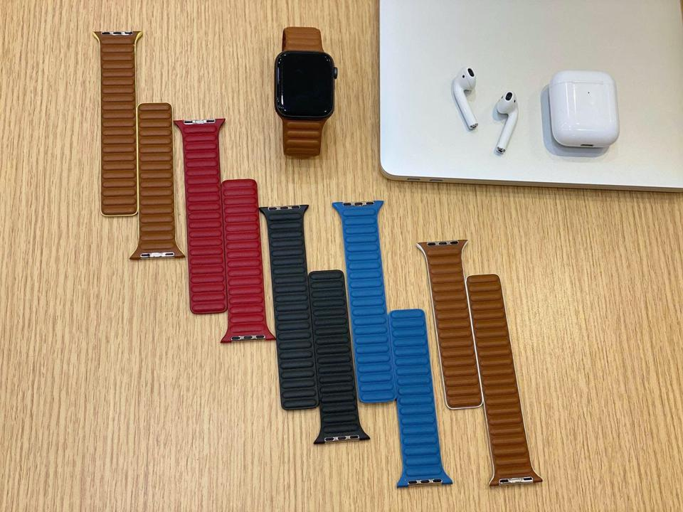 Are these new leather straps coming for Apple Watch Series 6