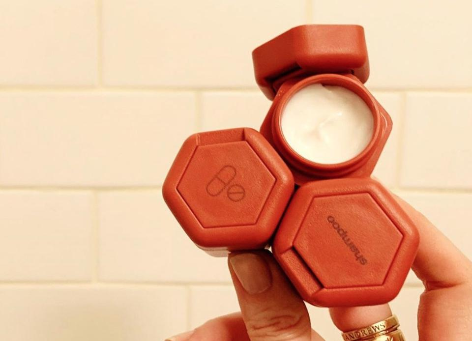 a cadence honeycomb, which uses magnets to keep your products together