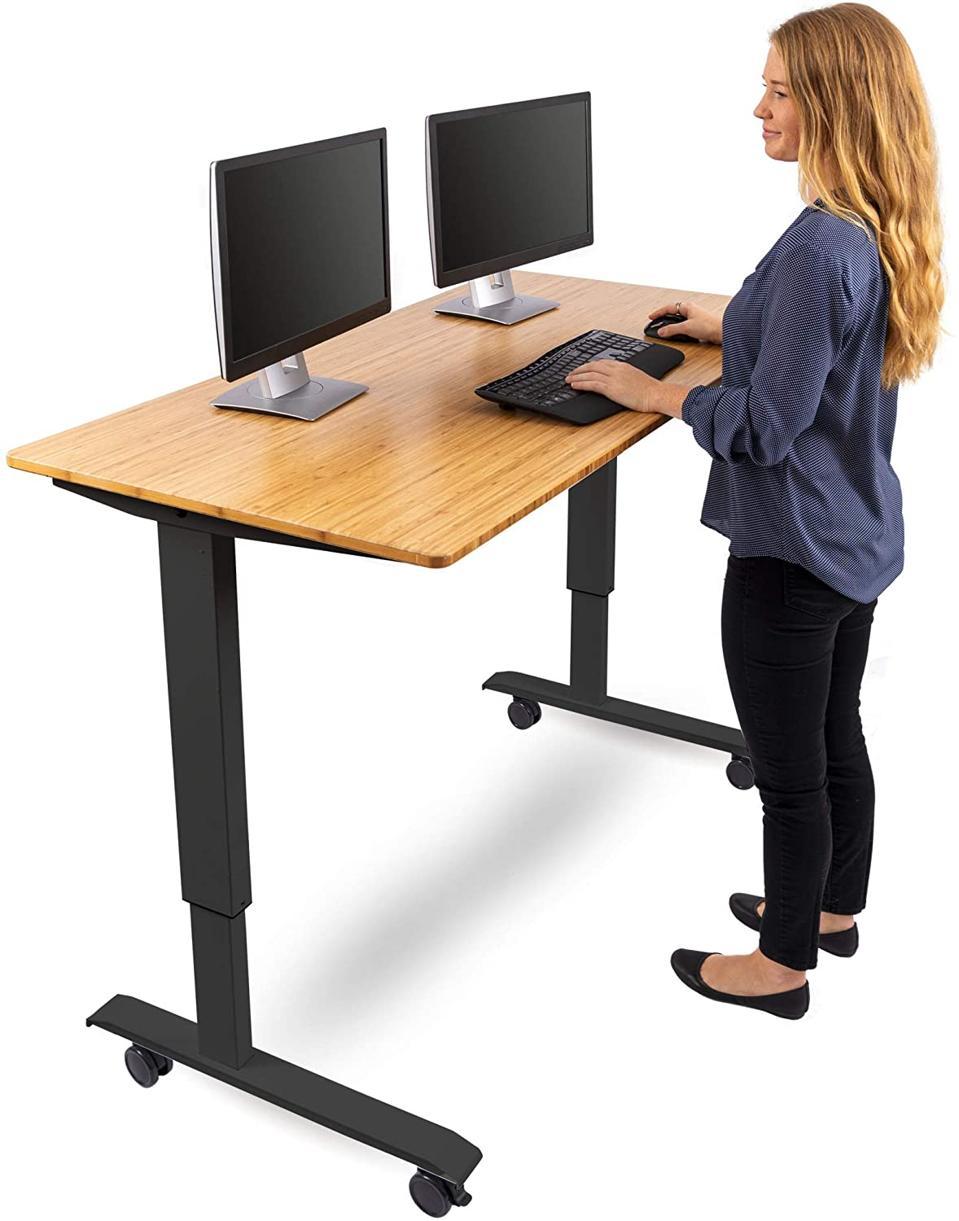 S Stand Crank Adjustable Standing Desk