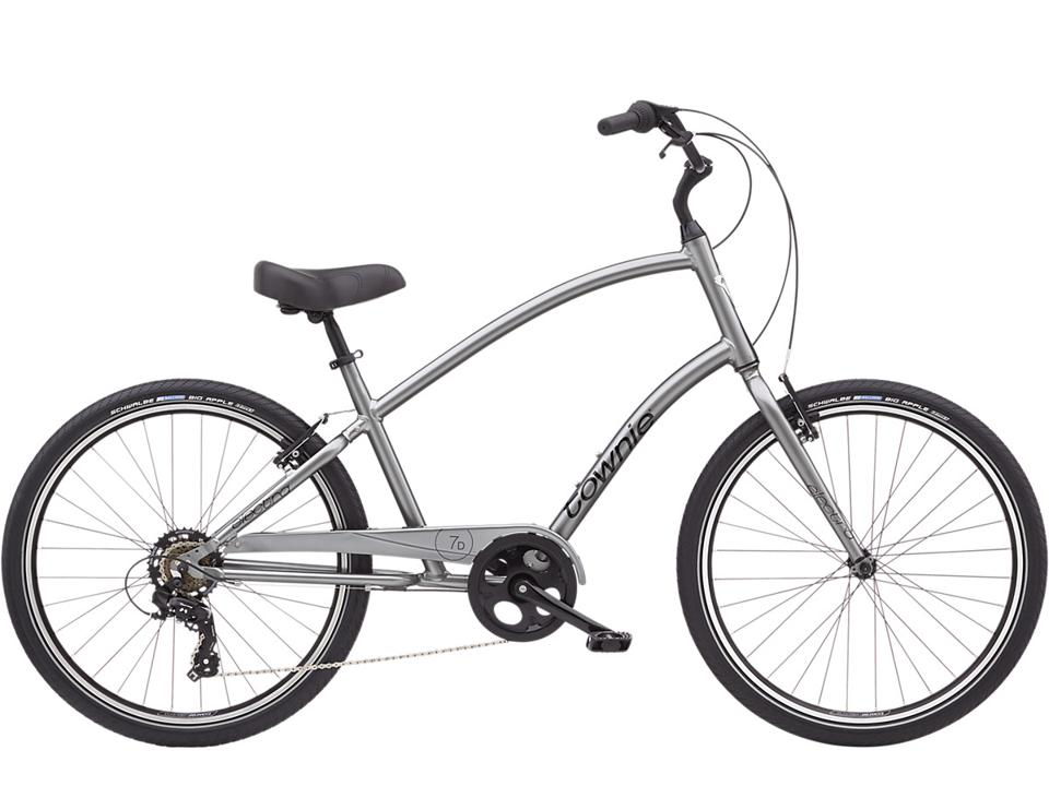 Electra Townie 7D Bike in Nickel
