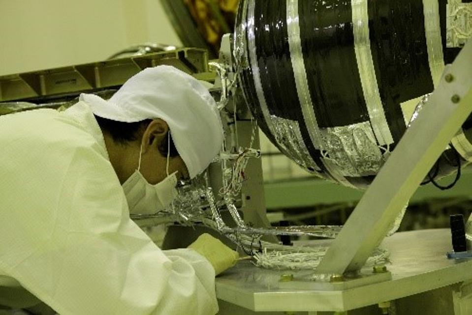 MHI's Kounotori transfer vehicle provides a lifeline to the ISS.