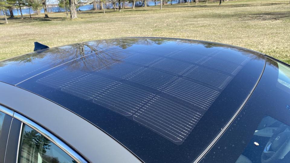 2020 Hyundai Sonata Solar Roof