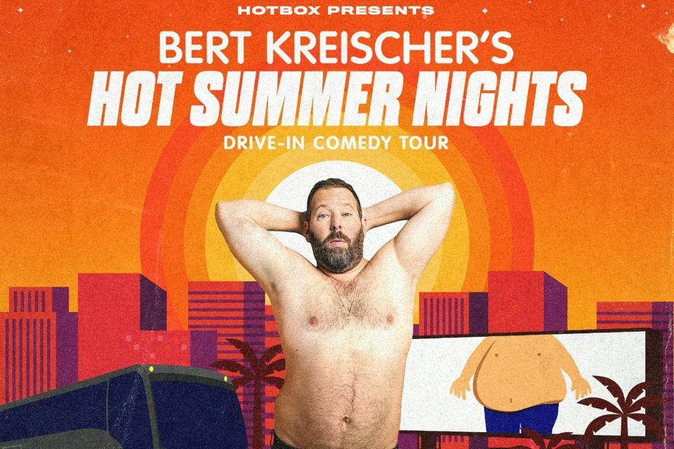 Bert Kreischer drive-in comedy tour