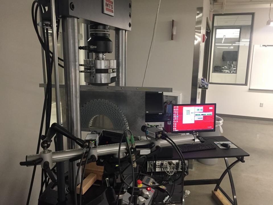 University of Missouri lab equipment.