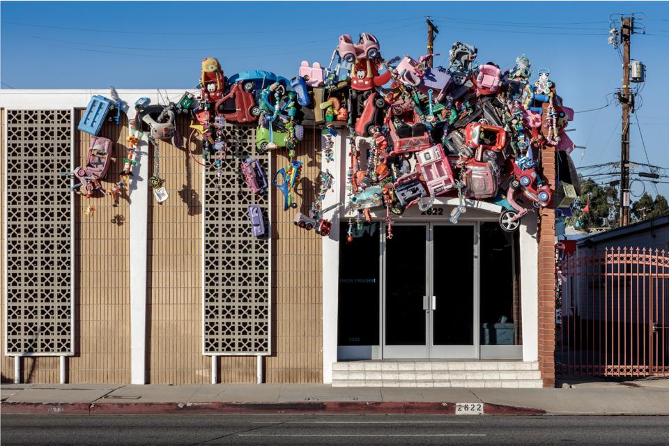 Kenny Scharf. Toy Drive, 2019-2020. Courtesy of Drive-By Art.