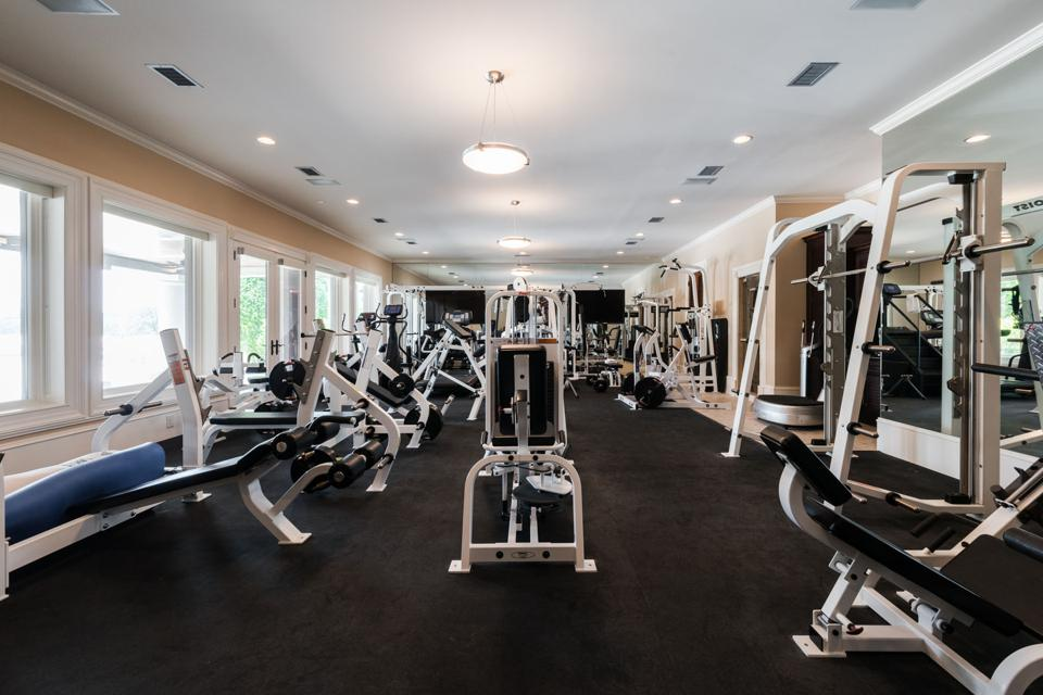 Large home gym