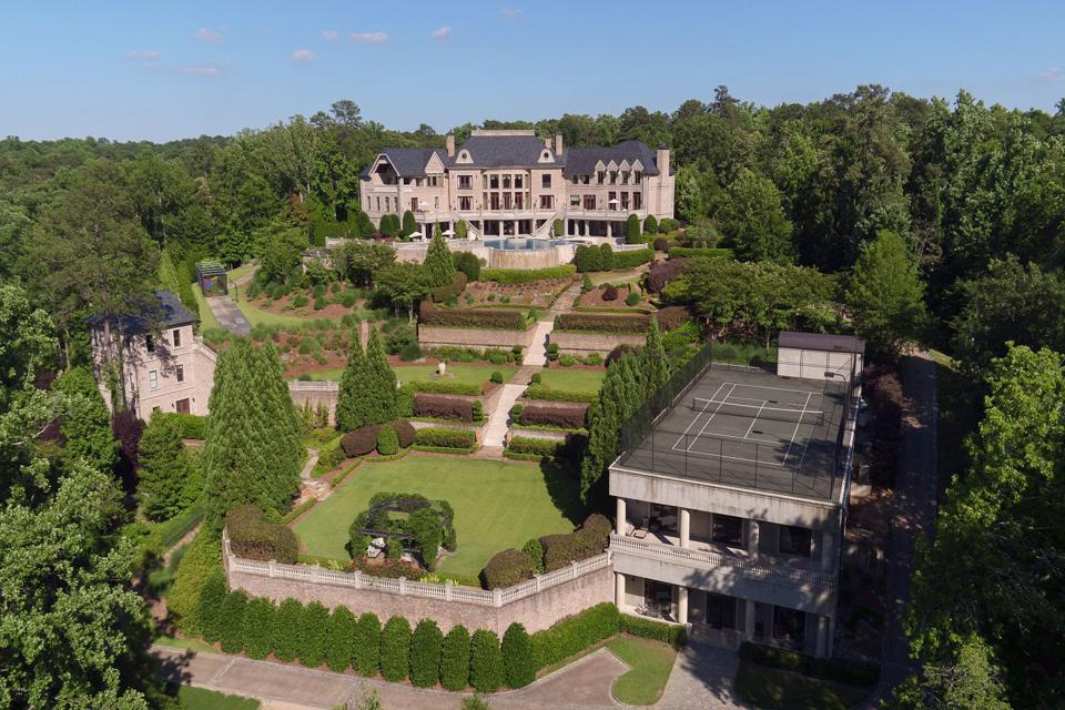 Mansion on a hilltop