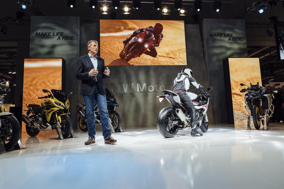 Dr. Markus Schramm, CEO of BMW Motorrad