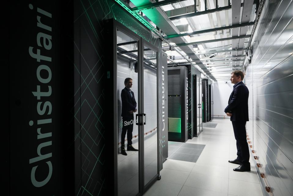 Russia's most powerful supercomputer Christofari