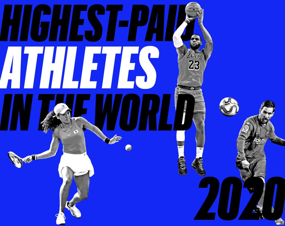 Forbes' Highest-Paid Athletes In The World