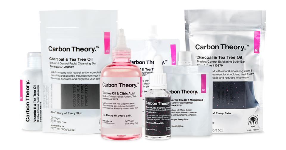 The Carbon Theory skincare range