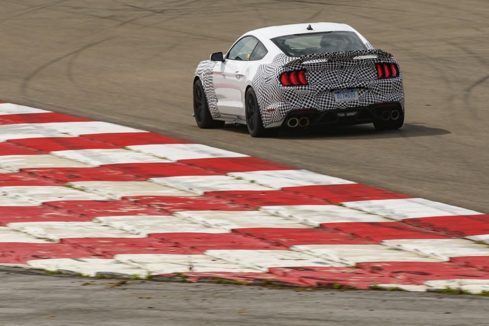 2021 Mustang Mach 1 Track Testing