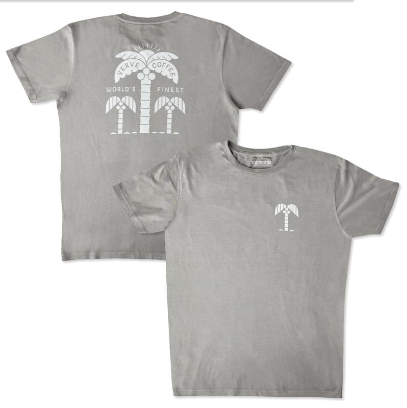 Trifecta Palm T-Shirt by Verve Coffee Roasters