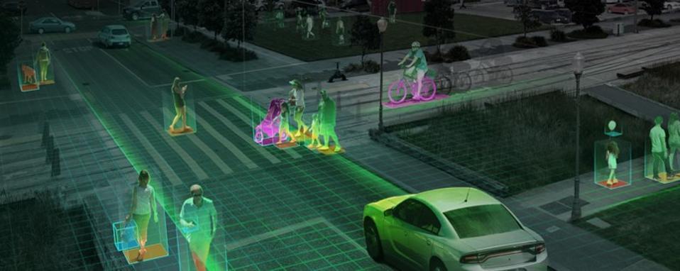 Visual of self driving cars