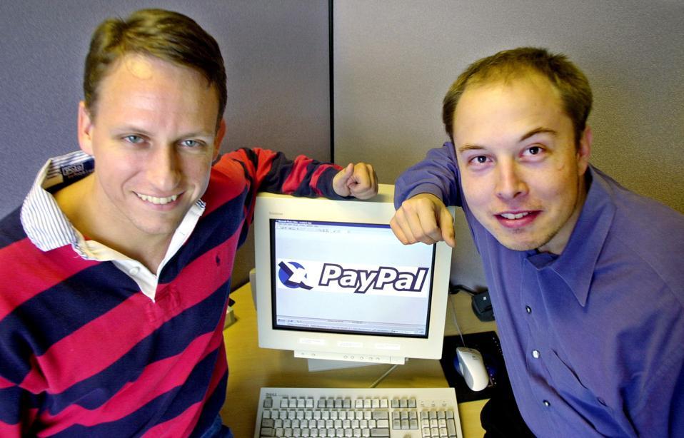 Peter Thiel, X.com, PayPal, Elon Musk