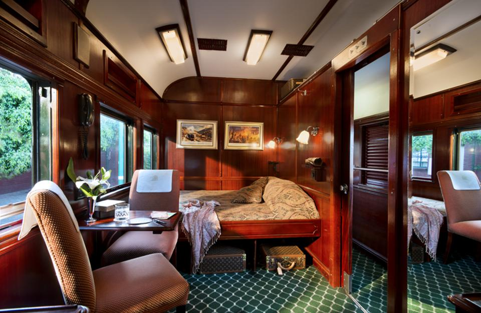 Rovos Pride of Africa suite