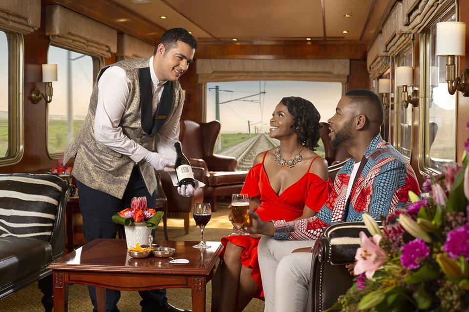 The Blue Train has been synonymous with luxury and hospitality since 1946
