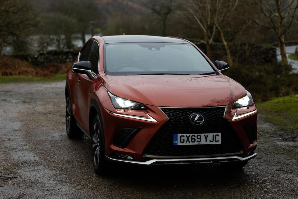 The NX 300h is a hybrid compact SUV by Lexus
