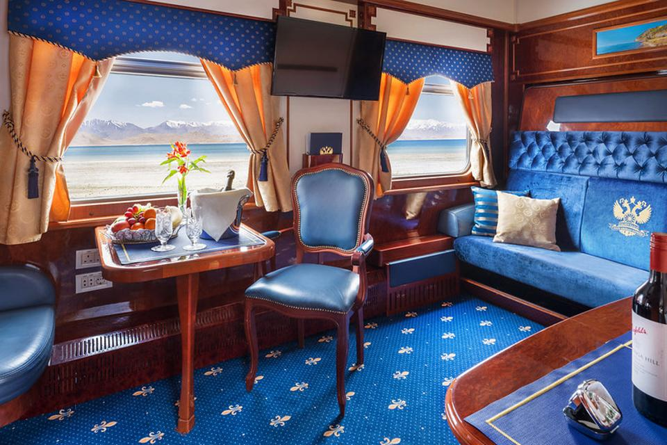 Golden Eagle Luxury Train Club Imperial Suite