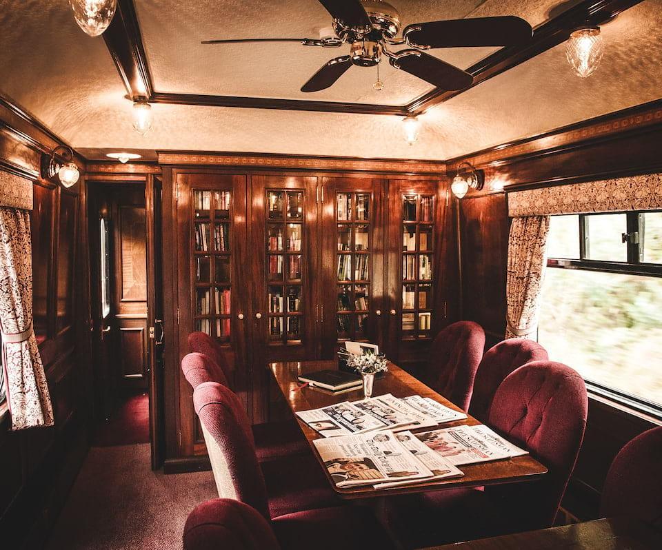 Belmond Royal Scotsman dining room