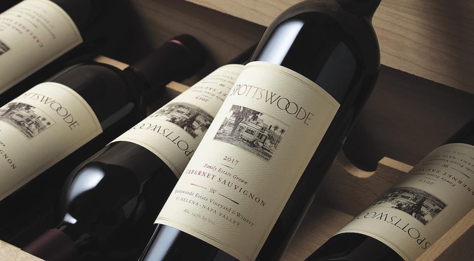 Spottswoode 2017 Estate Cabernet Sauvignon Red Wine Napa Valley Luxury Gift Guide Father's