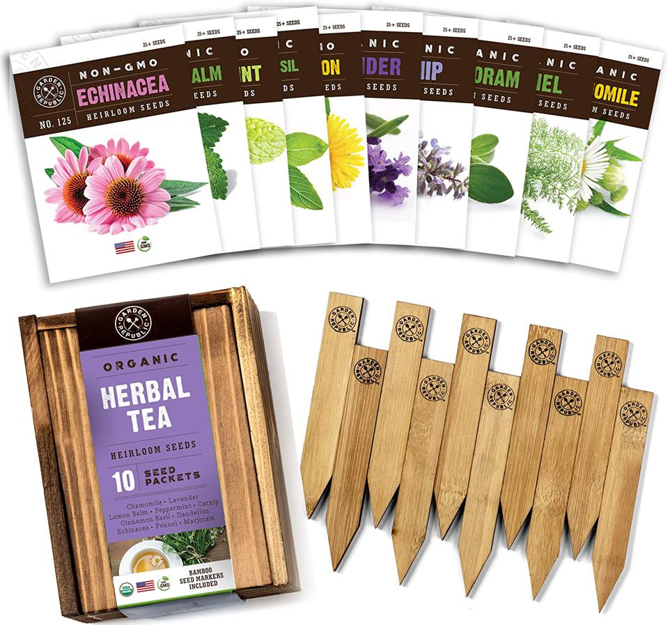 Garden Republic kit with tea seeds