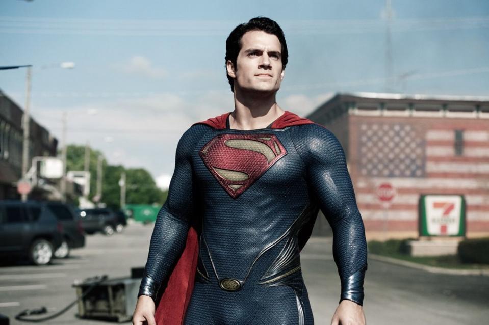 Henry Cavill stars as Superman in Warner's ″Man of Steel″