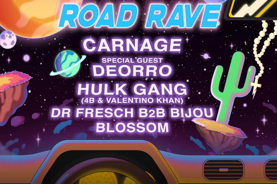 Road Rave drive-in concert