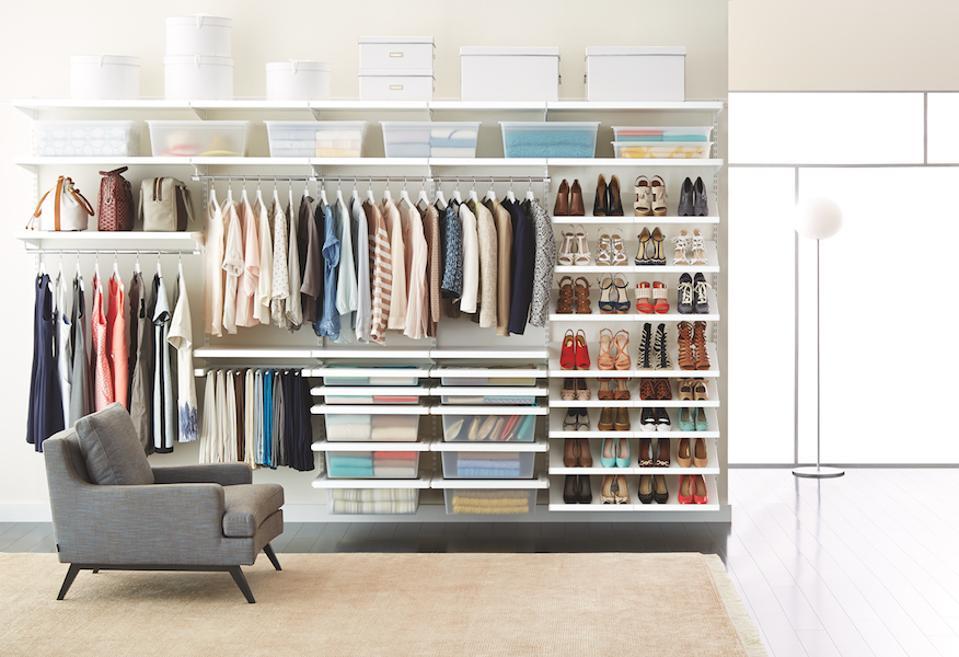 An Elfa Decor closet