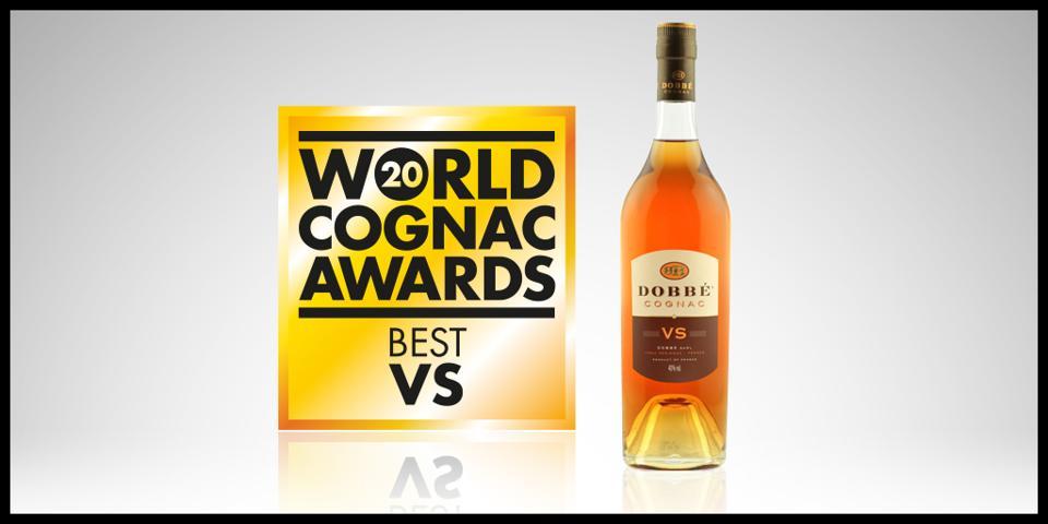 Dobbe Cognac Best VS World Cognac Awards Winner