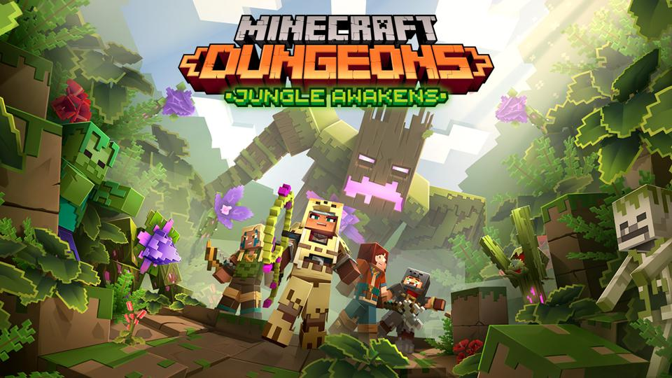 Minecraft Dungeons' First Two DLCs Revealed, Jungle Awakens And ...