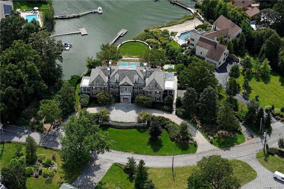 A Mamaroneck, N.Y. house on Long Island South with 7 bedrooms, 8 baths, on 1.269 acres. The asking price is $4,995,000 and a contract was signed on 5/11/2020. The house was originally listed in 2018 for $7,495,000.