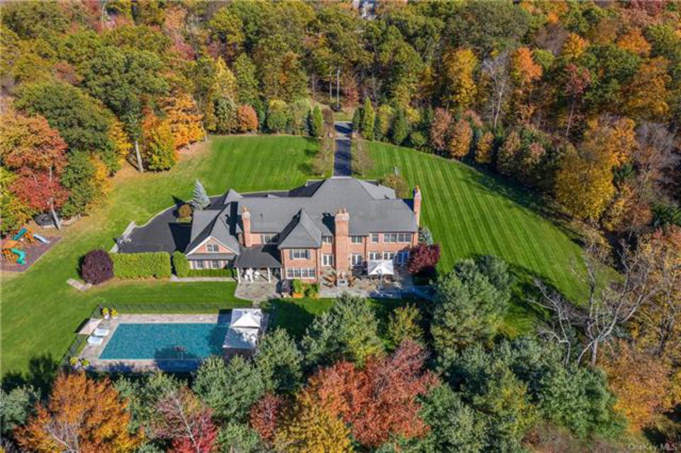 An Armonk, NY house with 8,489 sq.ft. including 6 bedrooms and 9 baths on 2.769 acres. The asking price is $4,250,000 with a contract signed on 5/29/20. The house was originally listed for $4,500,000 in November 2019.