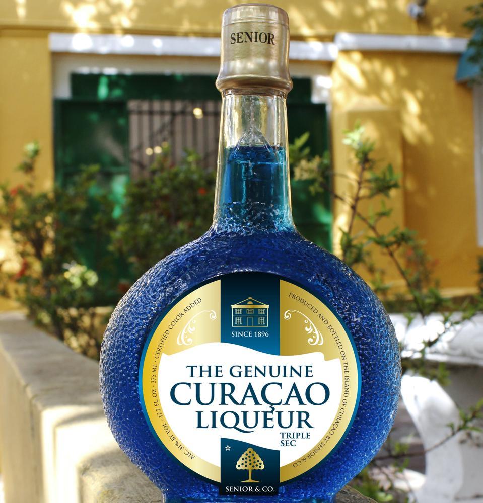 Genuine Blue Curacao Landhuis Chobolobo Factory
